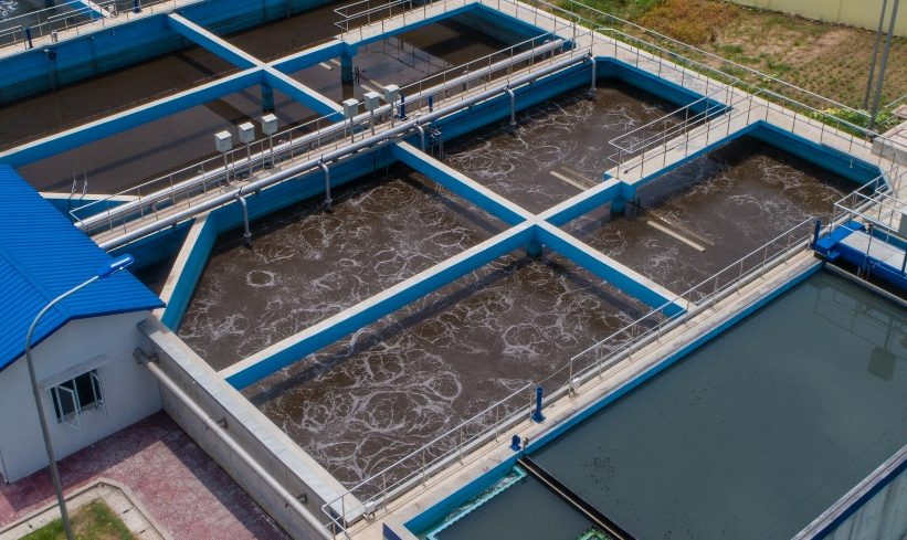 SBR in Industrial Zone Wastewater Treatment Plant