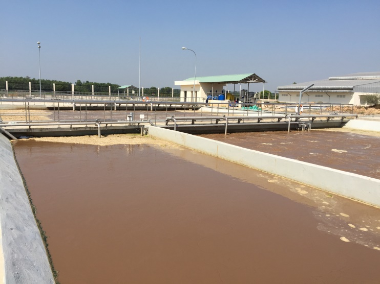 Bardenpho process in Rubber Wastewater Treatment Plant