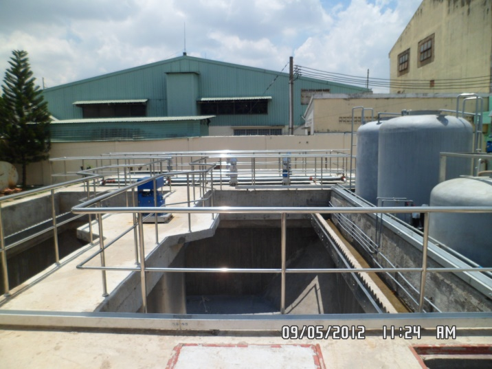 Advanced oxidation process in Textile Wastewater Treatment Plant