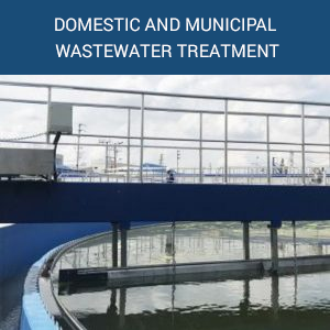 DOMESTIC AND MUNICIPAL WASTEWATER TREATMENT