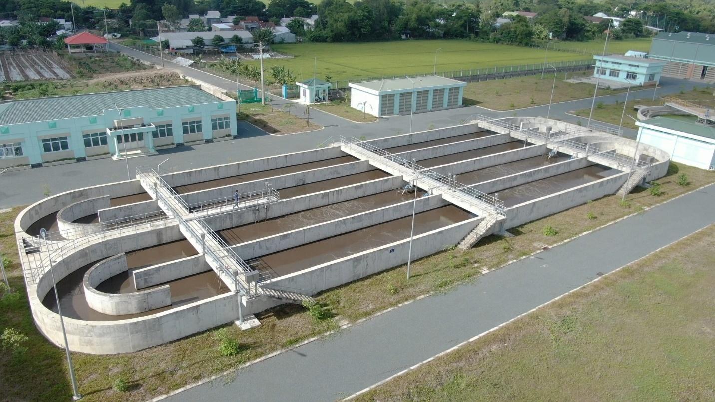 Mương oxy hóa trong hệ thống xử lý nước thải đô thị