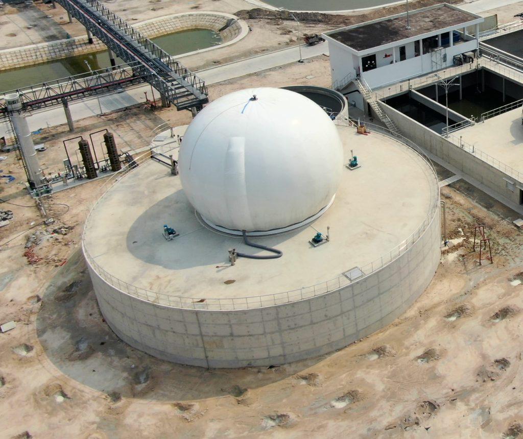 Cụm bể công nghệ CSTR trong xử lý nước thải ngành thực phẩm